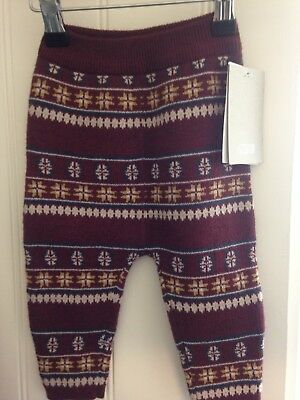 Mamas And Papas Brand new knitted leggings 6 - 9 months