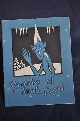 1924 Pranks of Jack Frost Brochure by Knit Underwear Manufacturers of America