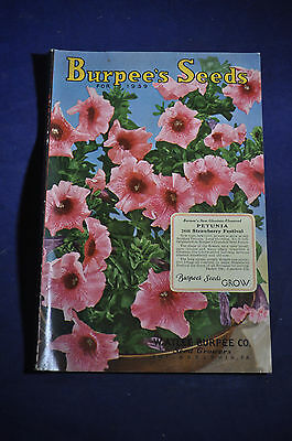 1939 *NEAR MINT* Burpees Seeds Catalog,  Philadelphia, Pa.