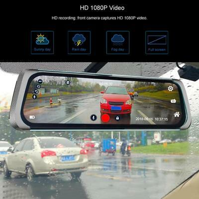 JUNSUN A910 9.35'' 1080P Android 5.1 GPS BT4.0 FM Car Rearview Mirror DVR Camera