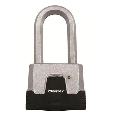Master Excel Combination 50mm Long Shackle Padlock