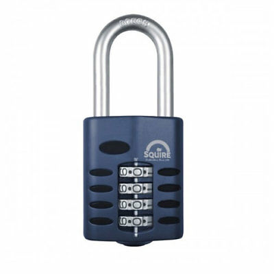 Squire CP40 Long Shackle Heavy Duty Combination Padlock