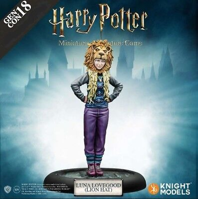 Harry Potter Miniatures Adventure Game - Luna Lovegood With a Lion Hat