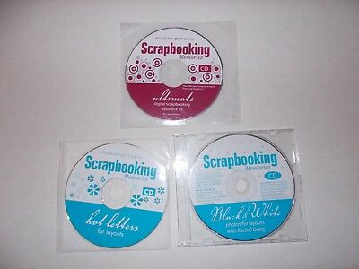 -  Scrapbooking Memories [3 Cd-Roms] Aussie Seller [No Inserts] Now $27.75