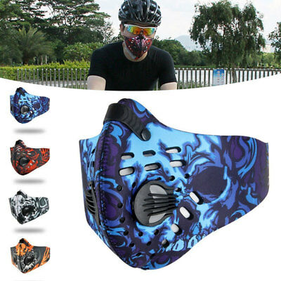 0E56 Activated Carbon Dust-proof Cycling Face Mask Anti-Pollution Bike mask