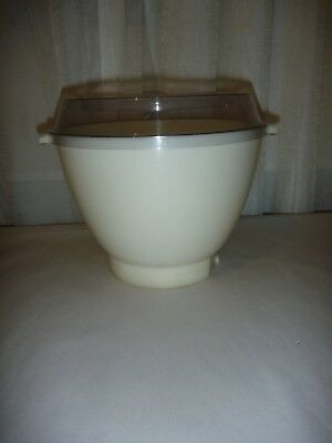Kenwood Chef Bowl Kenlyte  With Splash Guard Vintage Chef A701   A901 A703C Used
