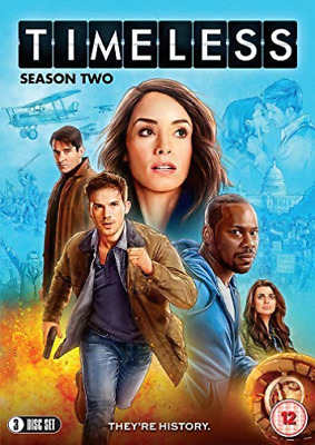 Timeless Season Two (UK IMPORT) DVD NEW
