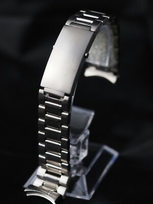 20mm heavy duty stainless steel band bracelet for a watch