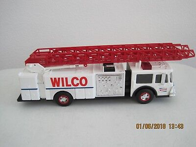 1990 Wilco Toy Fire Truck With Bank.