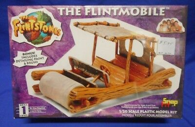 The Flintstones Movie The Flintmobile 1/20 Scale Plastic Model Kit Lindberg