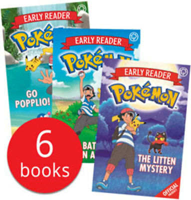 Pokemon Early Readers Collection - 6 Books