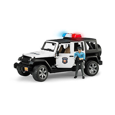 Bruder 1/16 Jeep Wrangler Rubicon Police Vehicle with Policeman | EXPRESS POST
