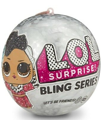 LOL SURPRISE! BLING Series Doll Authentic Holiday Big Sister 1 Ball Free Ship