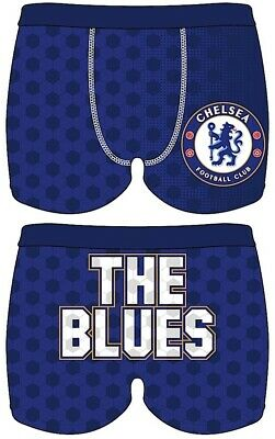 Boys Kids Chelsea The Blues Boxers Shorts Trunk Pants Underwear Briefs Knickers