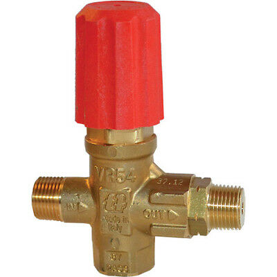 AR Mecline VR54-200 Unloader Valve 2900 PSI 8 GPM Red Replaced MV520 (A. R.)