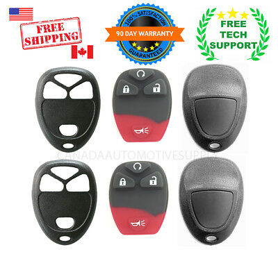 2 Remote key fob shell case fits GM Chevy HHR Uplander Montana Terraza Relay  4B