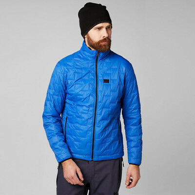 1ac260949d Helly Hansen Mens Lifaloft Insulator Jacket Top Blue Sports Outdoors Full  Zip