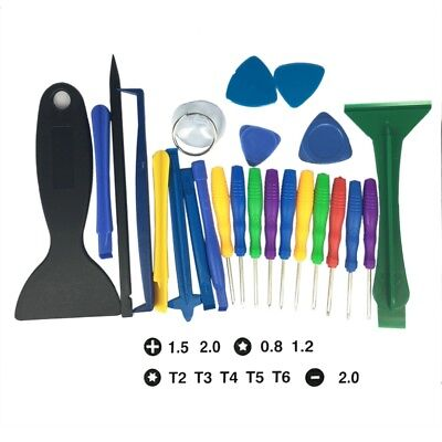 25 in1 Mobile Repair Opening Tools Kit Set Pry Screwdriver For iPhone Cell Phone