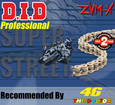 DID Gold  X-Ring  Drive Chain 530 P - 118 L for Suzuki Motorcycles