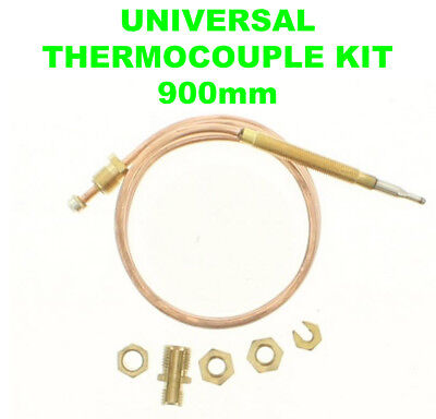 Universal Gas Boiler Oven Cooker Grill Thermocouple Kit 90cm 900mm