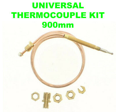 Universal Gas Boiler Oven Cooker Grill Thermocouple Kit 120cm1200mm