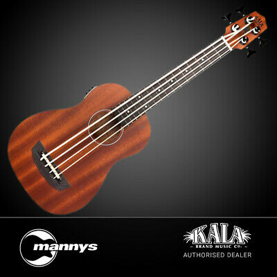 Kala UBASS-PSGR-FS Passenger Acoustic Electric U-Bass (Mahogany) w/ Gig Bag