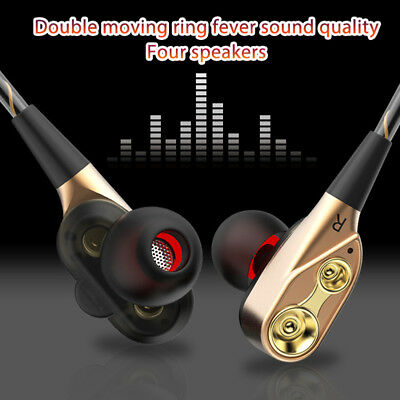 HIFI Super Bass Stereo Earphone Earbuds Gaming HeadsetHeadphone In-Ear With Mic