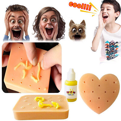 Pop it Pal Peach Pimple Popping Funny Toy Popper Remover Stop Picking Your Face