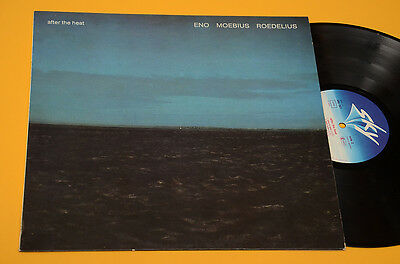 Eno Moebius Roedelius Lp After The Heat 1°St Orig Germany 1978 Ex