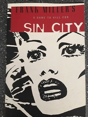 Sin City by Frank Miller - A dame to kill for