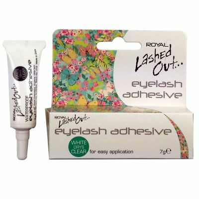 Royal White Drys Clear Eyelash Adhesive / Glue 7g