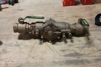 New Watts Regulator 2009 M2 Qt Rp Reduced Pressure Zone Valve Assembly