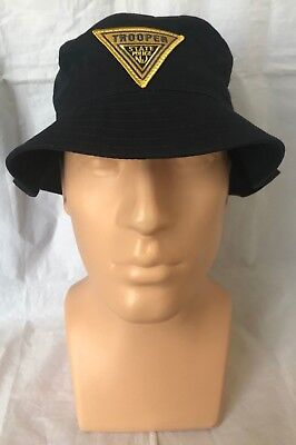 NJSP New Jersey State Police Trooper Navy Bucket Hat w Embroidered Trooper Patch