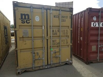 20' Storage/shipping Containers (Wwt) Los Angeles