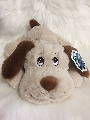 Animal Alley SAMMIE the Pup DOG Tan Brown Stuffed Animal Toys R Us Exclusive NEW