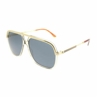 8cad0271f3 GUCCI AVIATOR SUNGLASSES Gg 2245 s H90Ha Olive Metal Logo Arms New ...