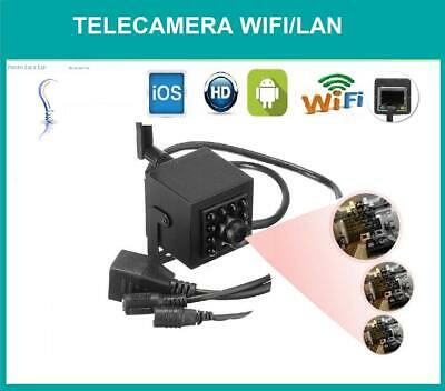 Mini Camera Wifi Telecamera Ip Wireless Full Hd 1080 Microcamera Spia Spy Rj Led