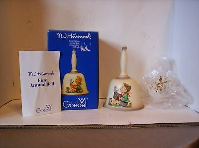 Vintage 1978  M.J. Hummel First Edition Annual Bell GOEBEL W/ Box - W Germany