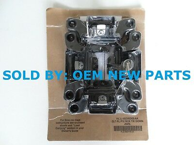 Ford F  Truck Bed Accessory Boxlink Tie Down Cleats With Keys