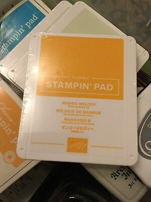 Mango Melody Brand New Stampin Up New Style Ink Pad