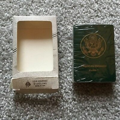 AMERICAN Embassy - KuWait - Custom Playing CARDS (New in the Box)