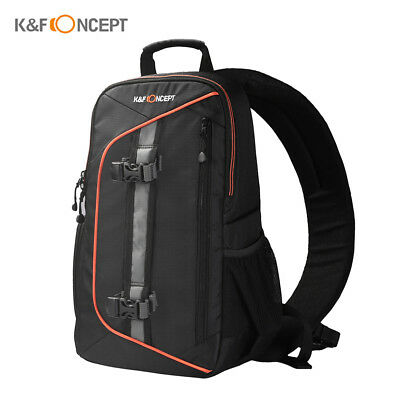 K&F CONCEPT DSLR Camera Backpack Shoulder Bag Waterproof Shockproof+Cleaning Set