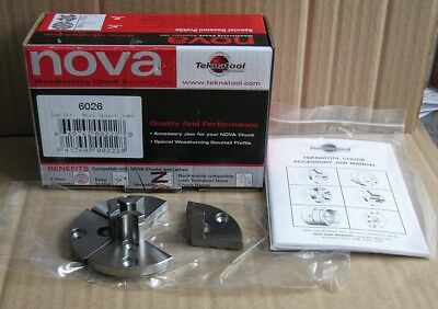 Woodturning - Nova Mini Spigot Jaws (6026) Brand New