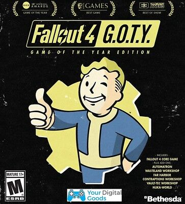 Fallout 4 Game Of The Year Edition GOTY PC  [GLOBAL STEAM KEY]