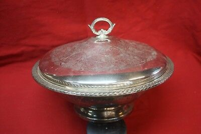 Antique Silver Soup Tureen  Plated About 1948