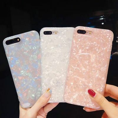 iPhone Xr Xs Max 6s 7 8 Plus Case Glitter Marble Cute Shockproof Cover for Apple