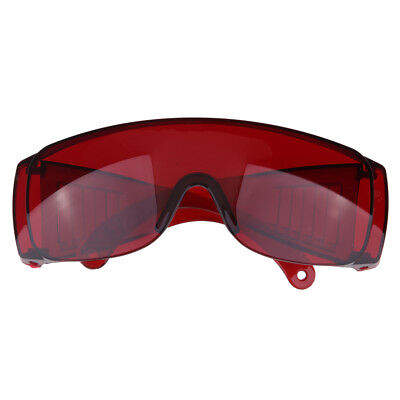 Eye Protection Labour Work Eyewear Protective Safety Goggles Glasses Red
