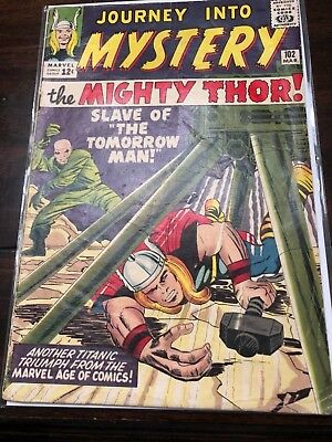 Journey Into Mystery with Thor 102  First Appearance Hela, Sif, & Balder