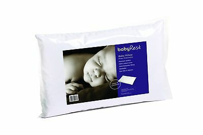 Portable Bassinet Pram Bed Baby Cotton Cover Pillow Beddings 320X230mm White New