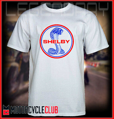 T Shirt  Fords Mustang GT350 Shelby Cobra, Mens Muscle Car Racing